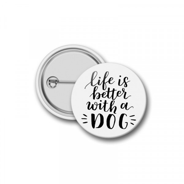Botton Life Is Better With a Dog